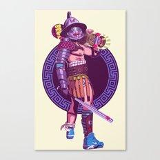 Street Warriors - Gladiator Canvas Print