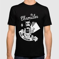 The Chronicles of Rock and Roll! Mens Fitted Tee Black SMALL