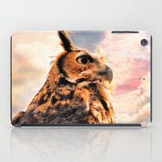 Majestic Great Horned Owl iPad Case