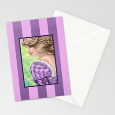 Rapunzel Portrait Stationery Cards