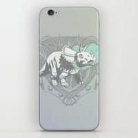 Fearless Creature: Frill iPhone & iPod Skin