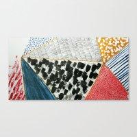 Pattern Making Canvas Print
