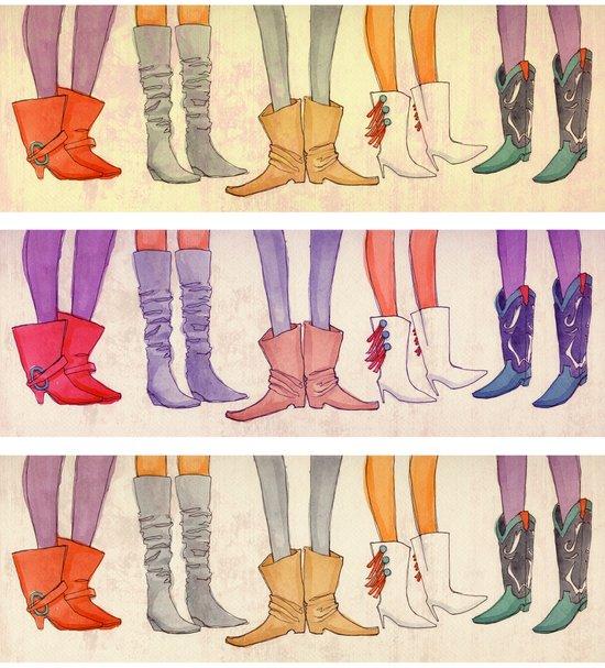 boots Canvas Print