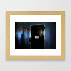 The Changing Room Framed Art Print