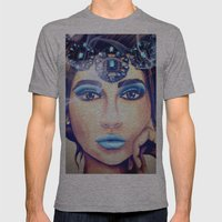 Neptune - by Ashley-Rose Standish Mens Fitted Tee Athletic Grey SMALL