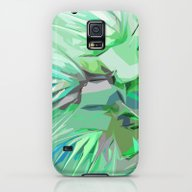 Palm Trees Abstract Galaxy S5 Slim Case