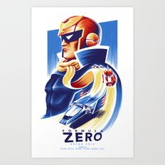 Formula Zero (Open Edition) Art Print
