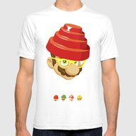 Crack That Whip Mens Fitted Tee White SMALL