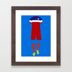 World Cup Framed Art Print
