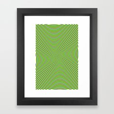 Trip spin Framed Art Print