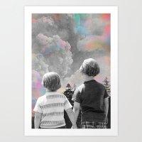 Partners Through It All Art Print