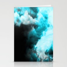 Relaxed - Cloudy Abstrac… Stationery Cards