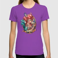 SIREN Womens Fitted Tee Ultraviolet SMALL