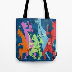Abstract Jazz Tote Bag