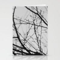 january tree Stationery Cards