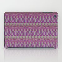 Multicolor Aztec Pattern iPad Case