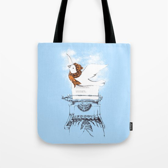 My Winter Article Tote Bag