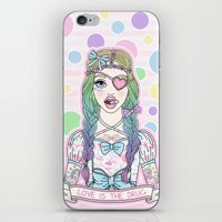 Love Is The Drug iPhone & iPod Skin