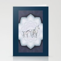 FANTASY - Unicorns Stationery Cards