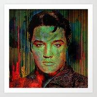 Elvis P. Art Print