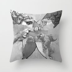 Ghost in the Stone #1 Throw Pillow