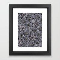 Di-simetrías 1 Framed Art Print