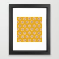 Bursts Framed Art Print