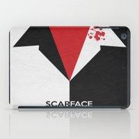 Scarface - Minimal Poster 01 iPad Case