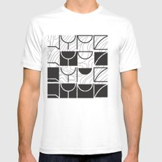 HYPE Mens Fitted Tee SMALL White