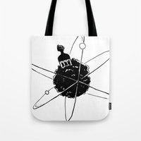 Frotoon Afro-Nucleus Tote Bag