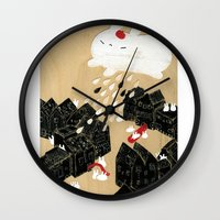 Rain of Terror Wall Clock