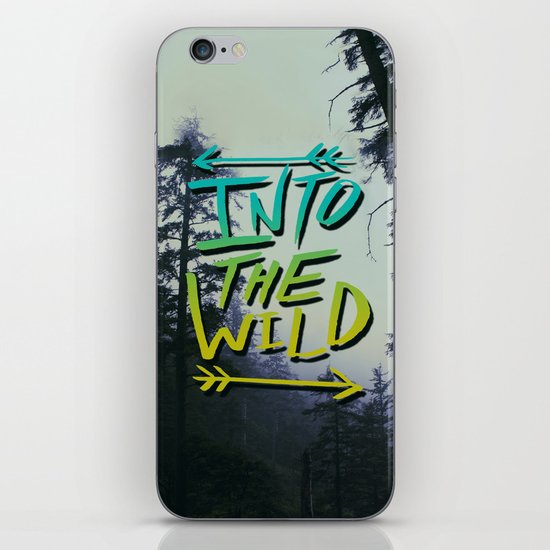 Into the Wild IV iPhone & iPod Skin