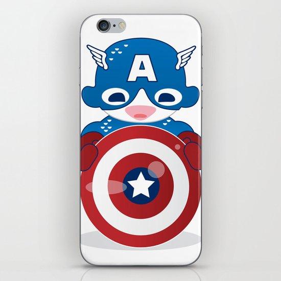 CAPTAIN AMERICA ROBOTIC iPhone & iPod Skin
