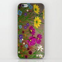 Spring Wild flowers  iPhone & iPod Skin