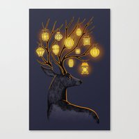 Dream Guide Canvas Print