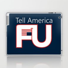 Tell America FU Laptop & iPad Skin
