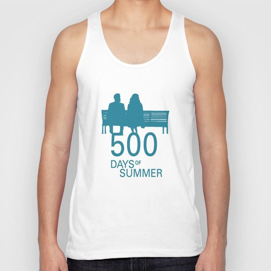 500 Days of Summer Poster Unisex Tank Top