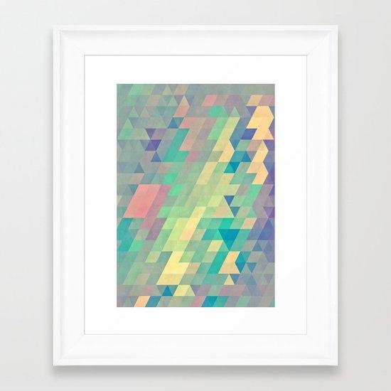 pystyl xpyss Framed Art Print