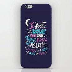 Fell in love iPhone & iPod Skin