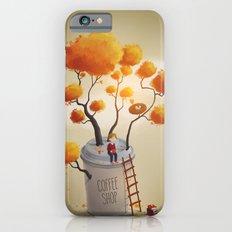 Coffee Shop Tree Slim Case iPhone 6s