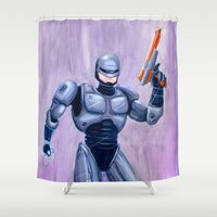 ROBcop Shower Curtain