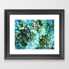 Ocean Colors Framed Art Print