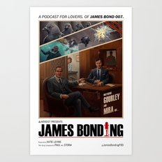 James Bonding Art Print