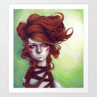 Evelyn Art Print