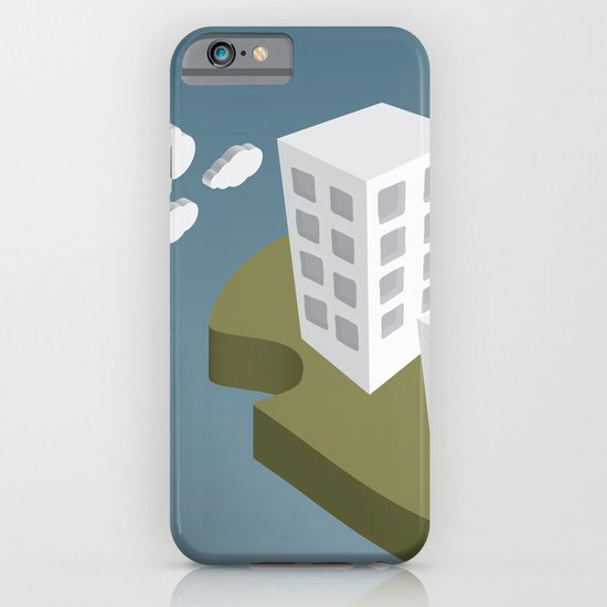 Adrift Alone iPhone & iPod Case
