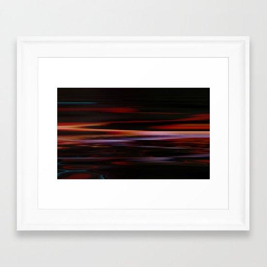 On Some Faraway Beach (2) Framed Art Print