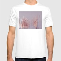 Peach River Mens Fitted Tee White SMALL