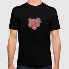 Rosa Mens Fitted Tee Black SMALL