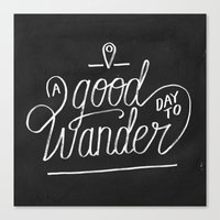 Good Day to Wander Canvas Print