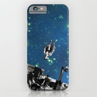 iPhone & iPod Case featuring Star diving by basilique